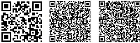 The India Road QR links for smartphones: point your camera and click.
