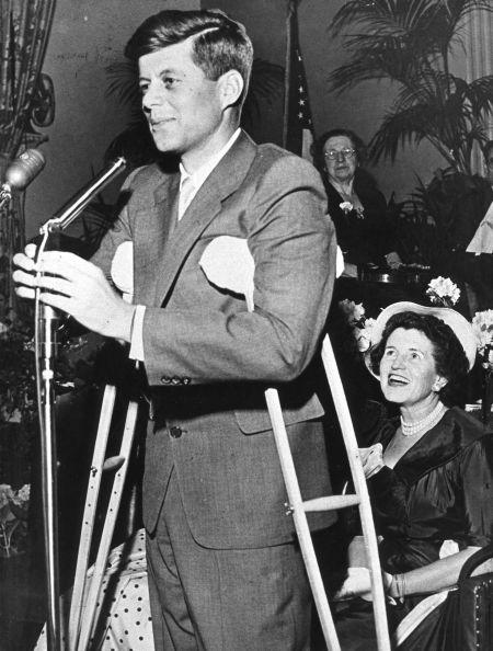 John Kennedy as a young congressman.