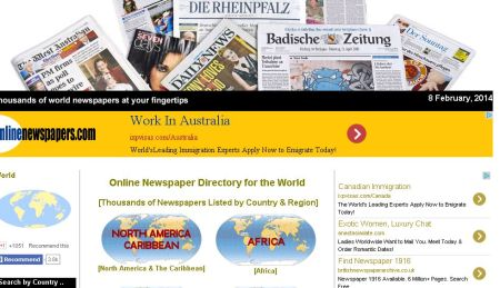 The Fourth E-state: online newspapers for the digital newshound.