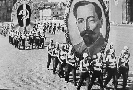 Iron Feliks, in a parade in 1936. By then the gulags were a fearsome juggernaut.