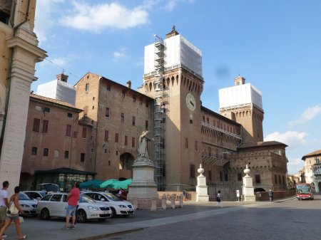 The Castello Estense, home to the Dukes of Ferrara.