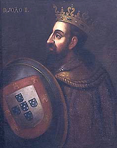 The Perfect Prince, known to Isabella the Catholic as 'El Hombre'. This oil conveys the ruthessness of the Portuguese king.