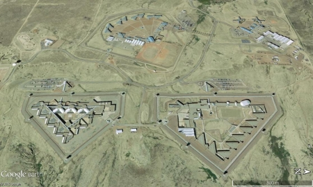 The Supermax prison in Florence, Colorado.